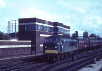 Bristol Temple Meads East Signal Box 1960s