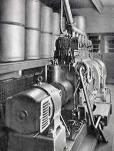 110 horse power Diesel engine - Click To Enlarge