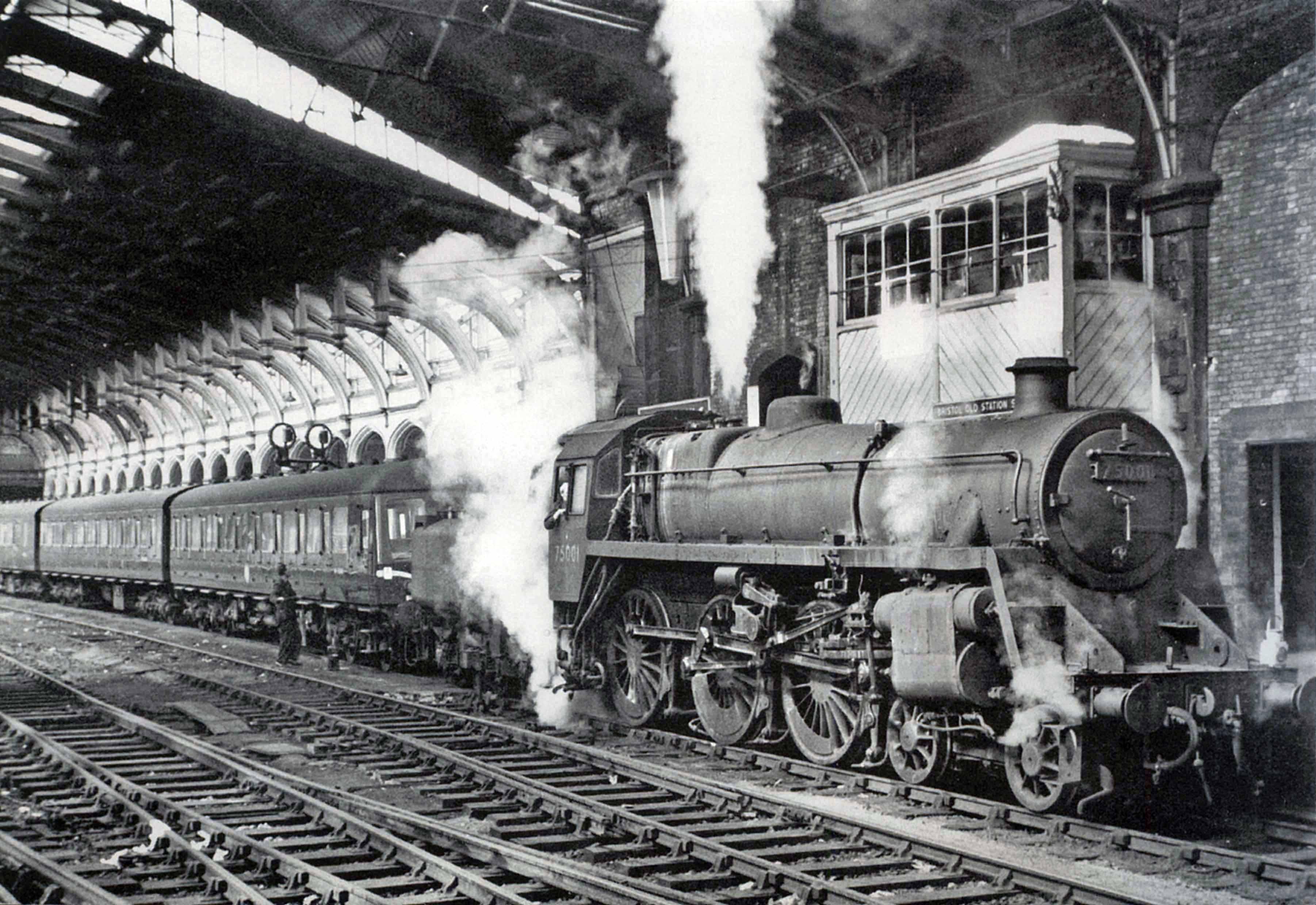 Old Train Station Inside